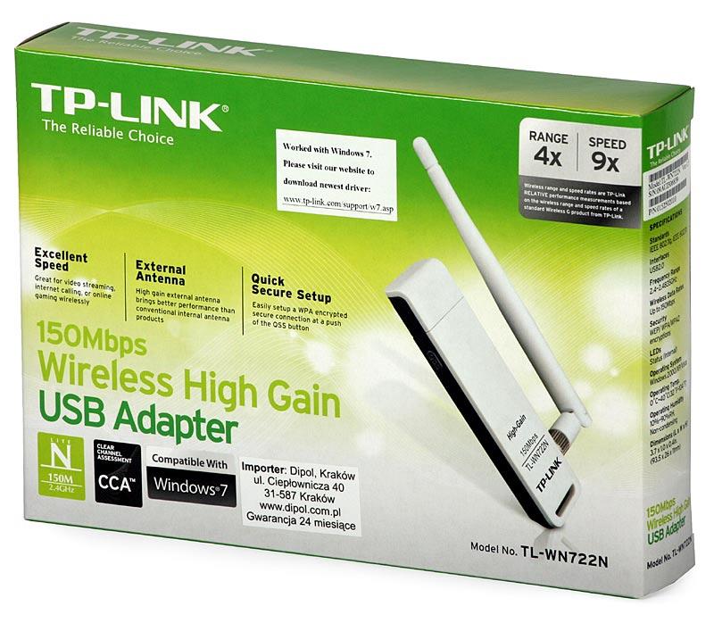 USB INALAMBRICA TP-LINK TL-WN722N COMPUTADORES PEREIRA PCMARK